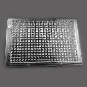 384 Well Cell Culture Plate, clear, flat bottom, Non-Treated